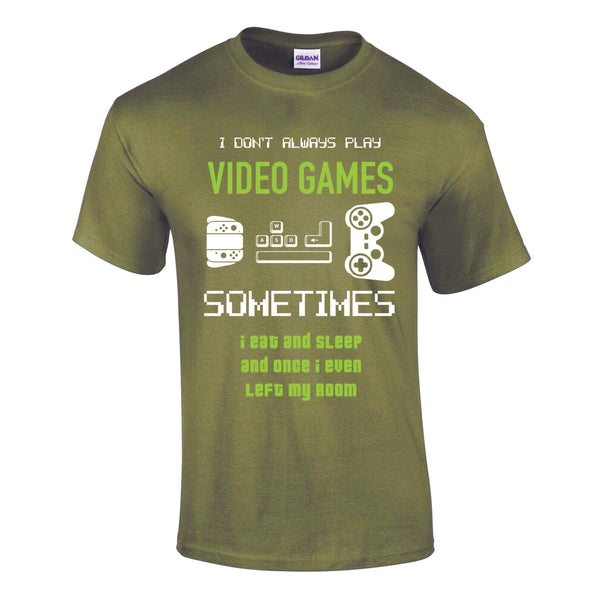 GAMERS CHRISTMAS T-SHIRT
