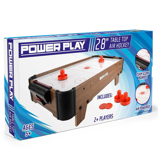 "Powerplay 28"" Air Hockey Game"