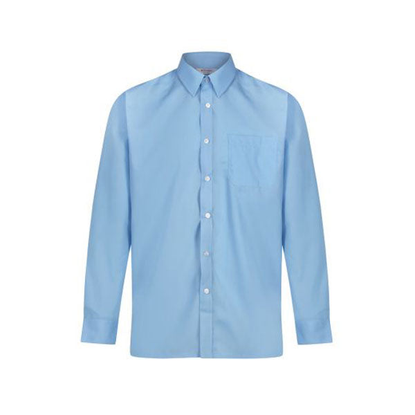 TRUTEX Long Sleeve, Non-Iron Shirts - Twin pack