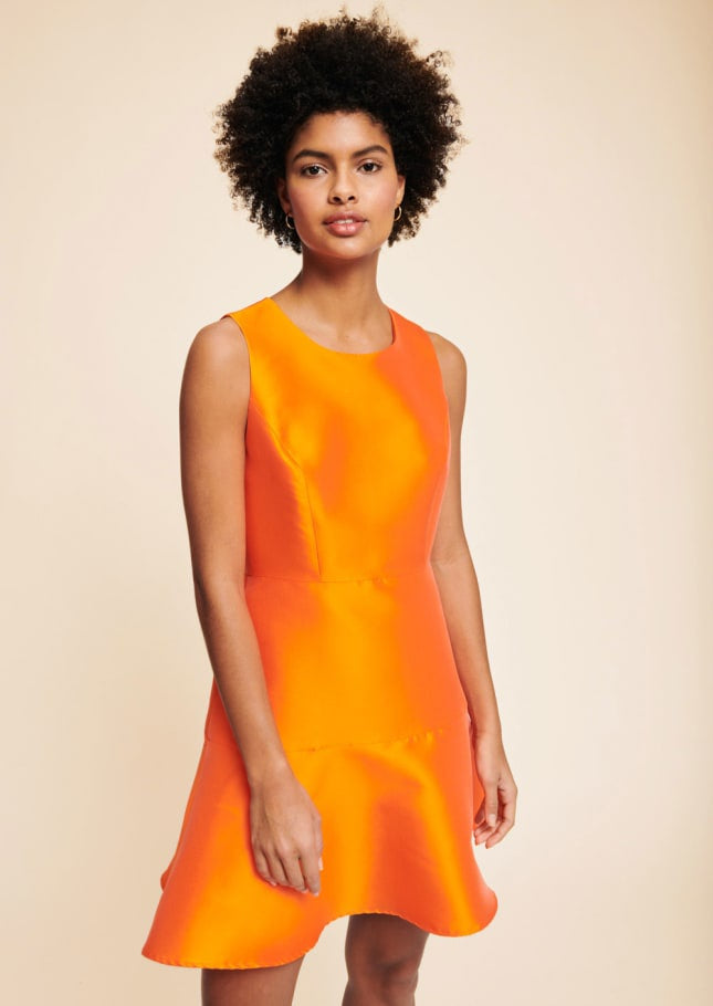 Orange Tara Jarmon COCKTAIL dress