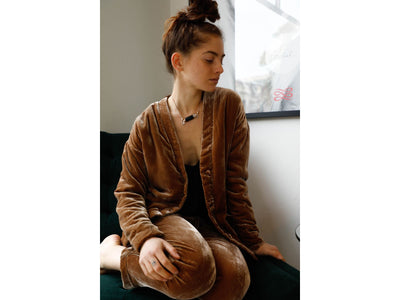 Sucker Nude Velvet Jacket