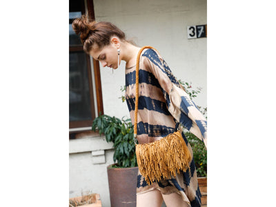 Drake Brown Tie Dye Tunic