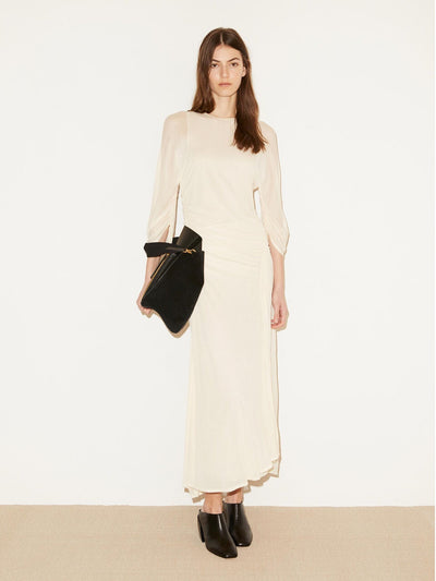 Jessamine Dress Cream Snow
