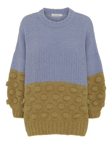 Crew Neck Bubble knit