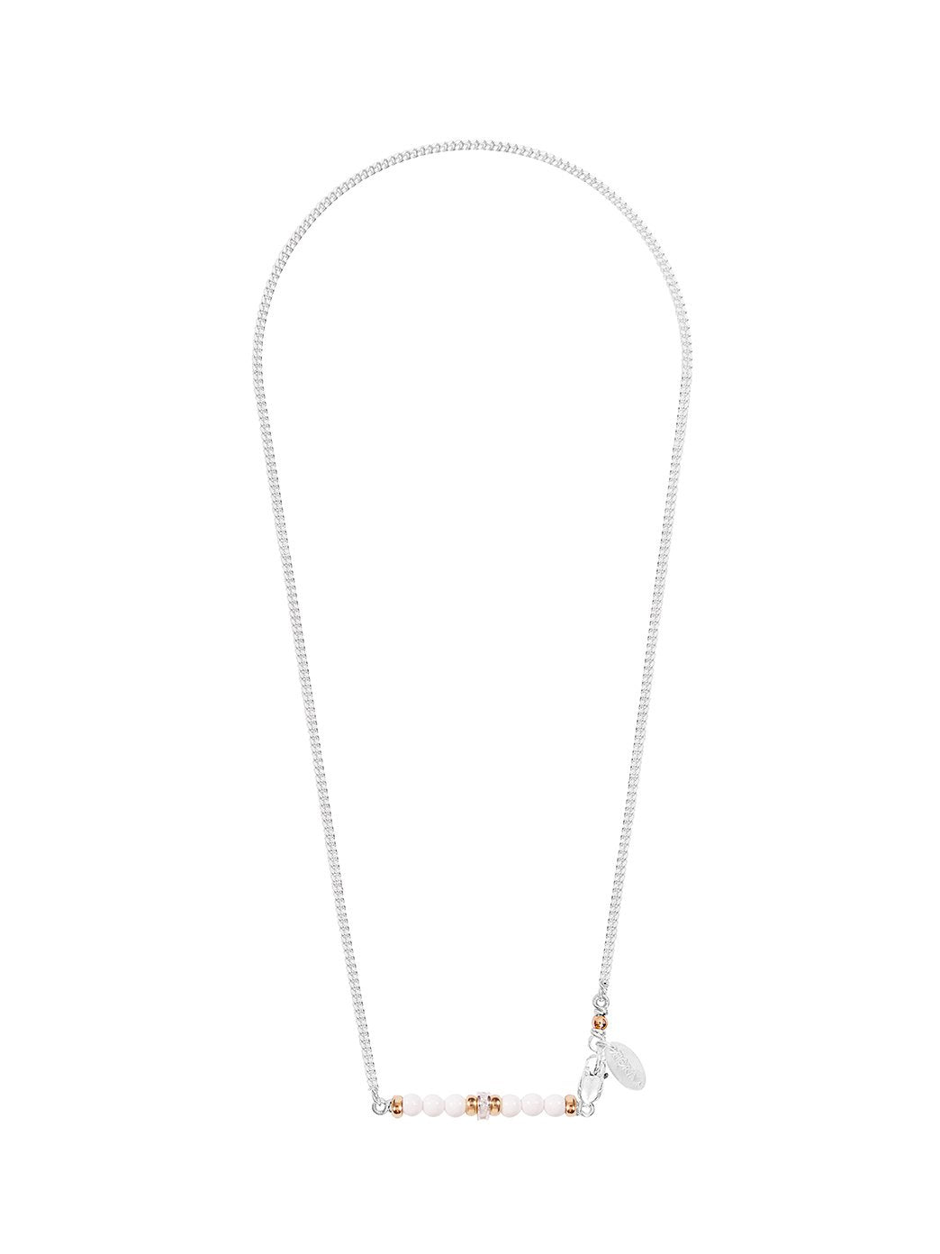 Romance Necklace White