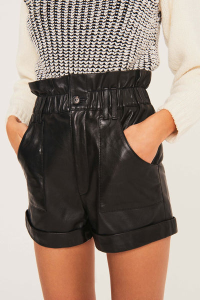 Kate Leather Shorts