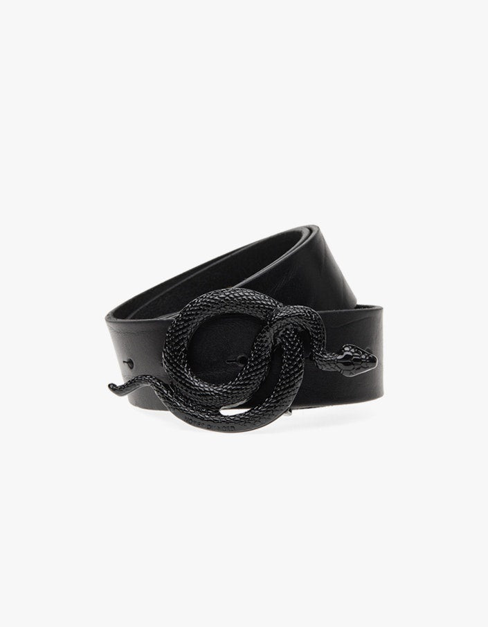 Milo Leather Belt Serpent