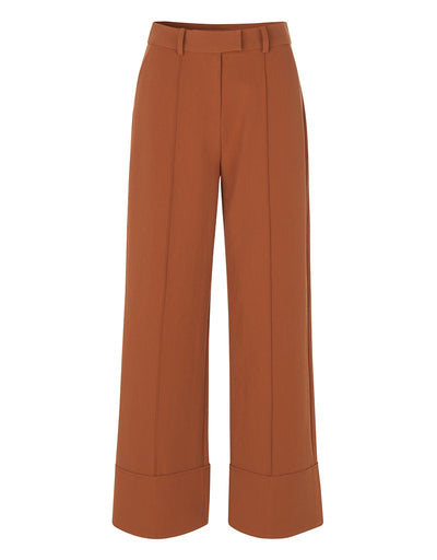 Malaya saffron crop Pants