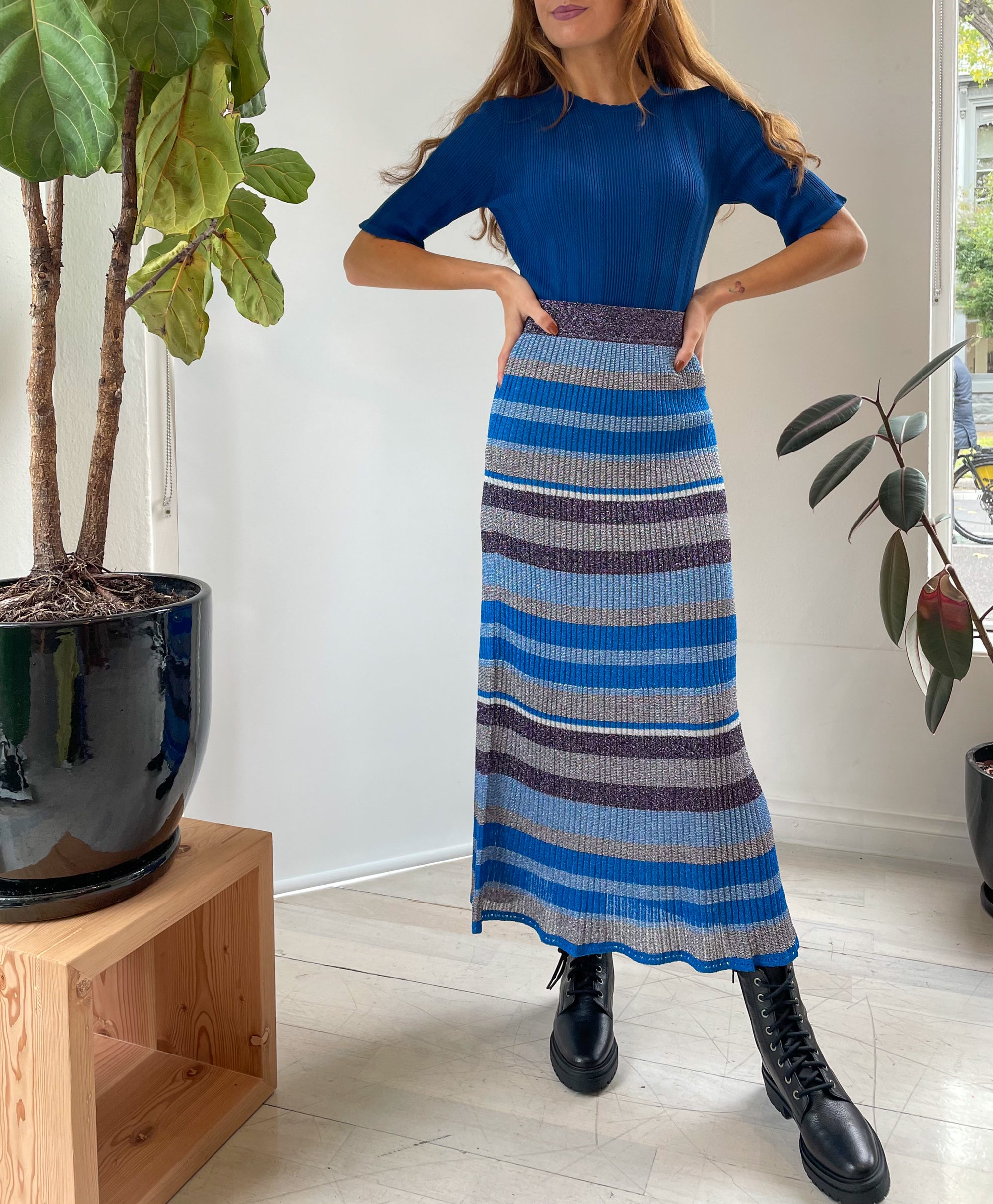 Bluette Long Skirt