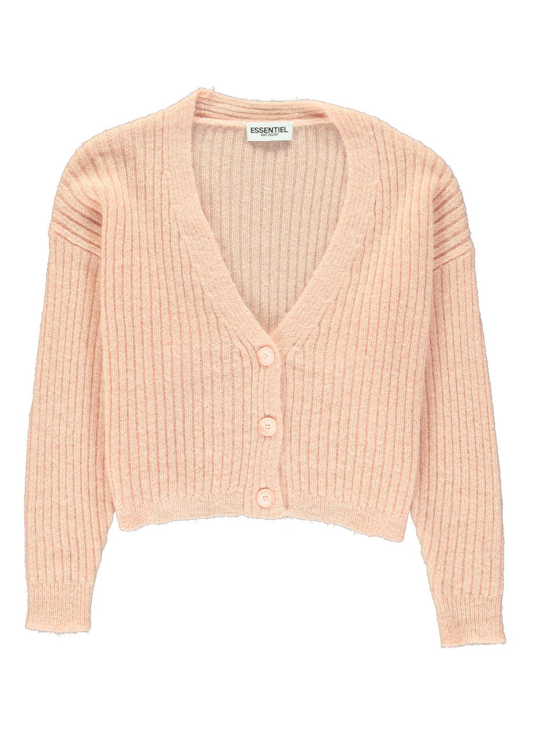 Vry Pale Pink Cardigan