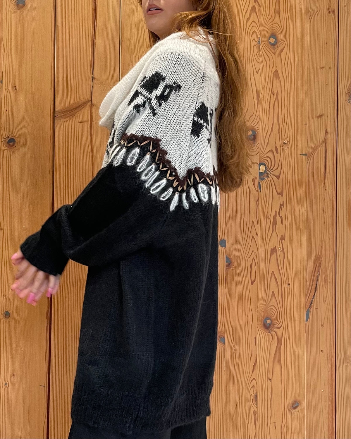 Dock Knitted Sweater - Black Combo