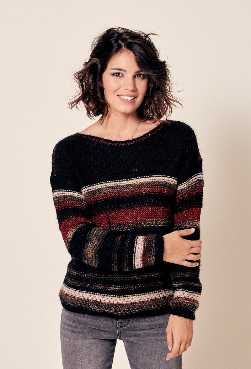 Tammy Boat Sweater