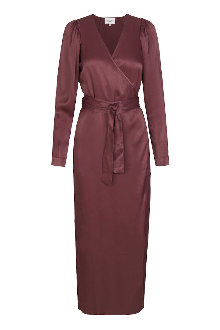 Lily Wrap Dress - Decadent Chocolate
