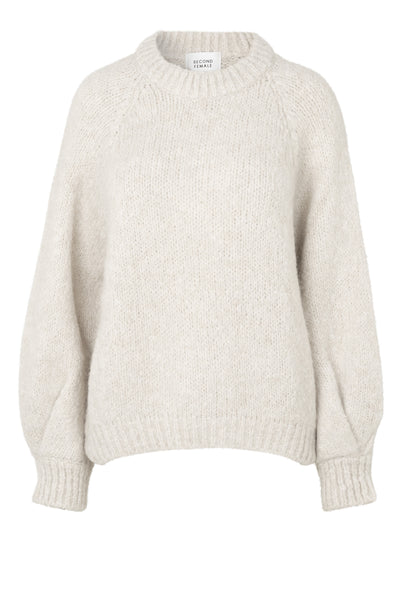 Milffa Knit O-Neck - Ginger Root