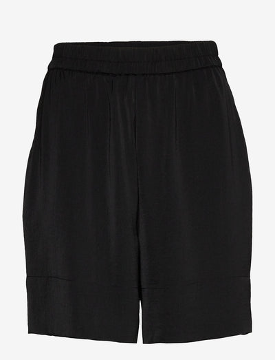 Minga Black Silky Shorts