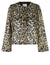 Mika Faux Fur Animal Print Jacket