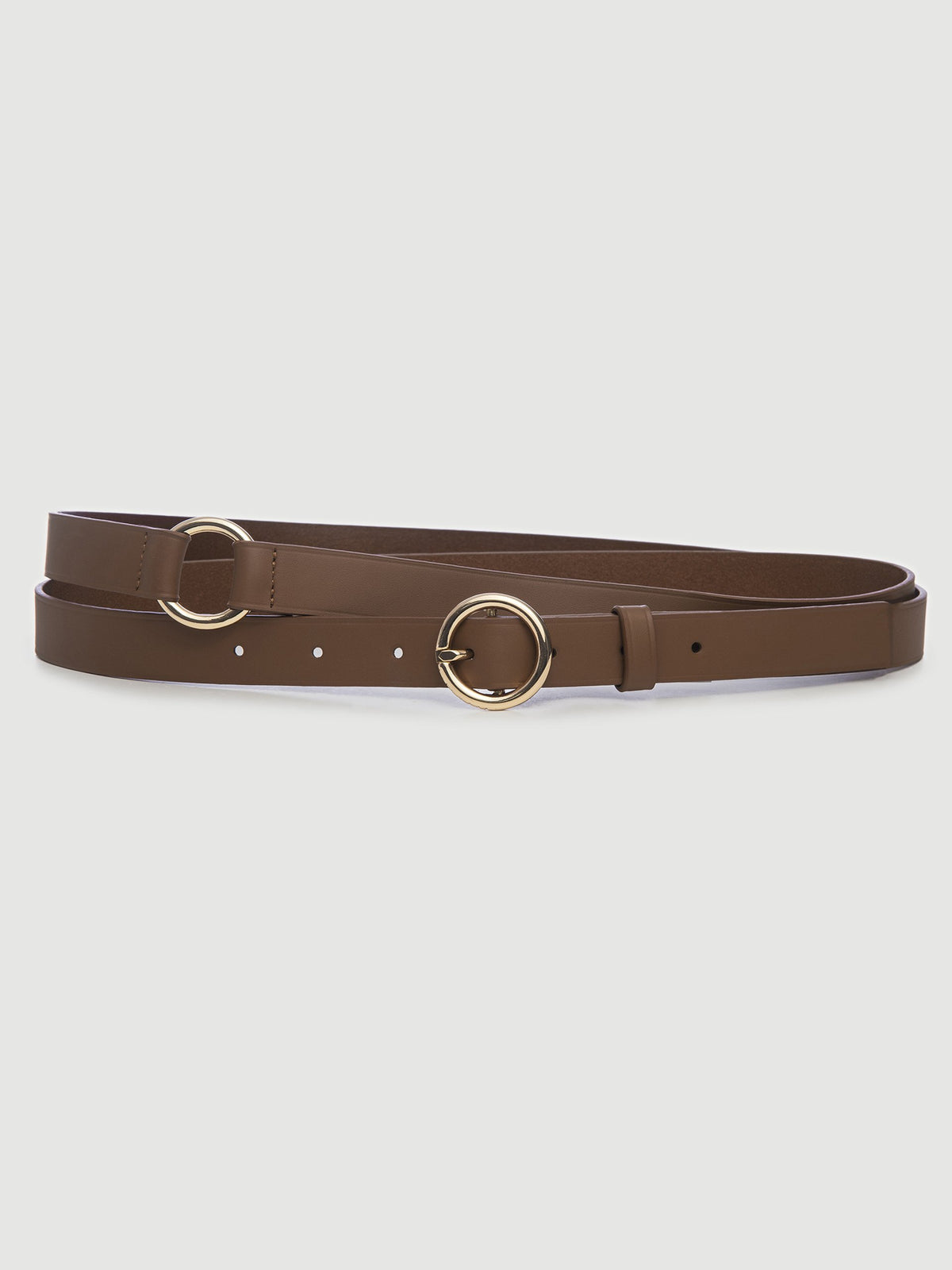 Double Wrap Belt Tobacco