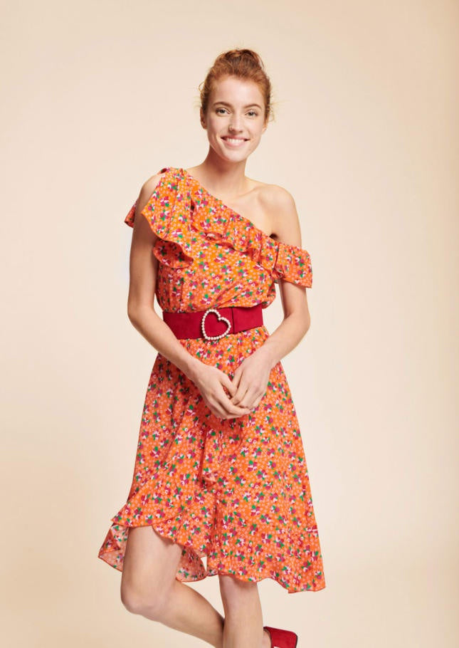 Clementine Ruffle Dress