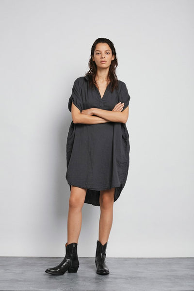 Abinaya Dress - dark slate