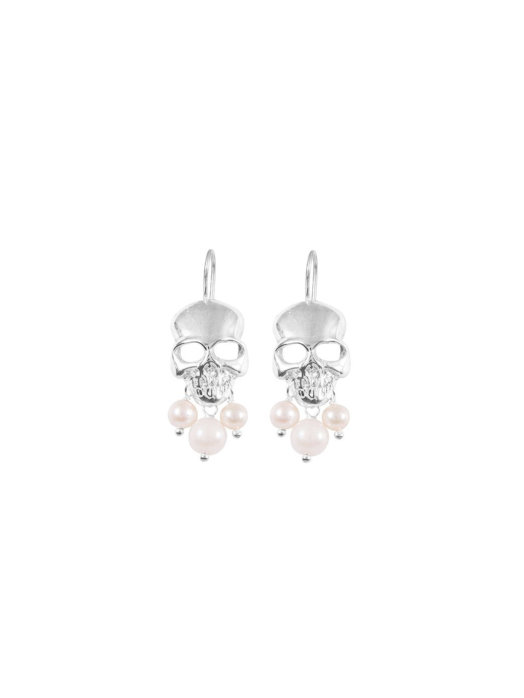 Frida Earrings - Pearl