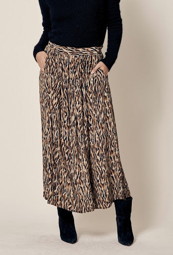 Long Tiger Skirt