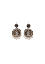Marrakesh Earring with White Pearl