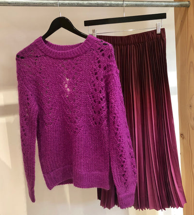 Annis Knit O Neck