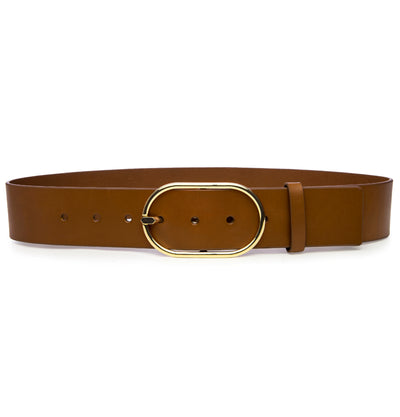 Grand Oval Belt Natural