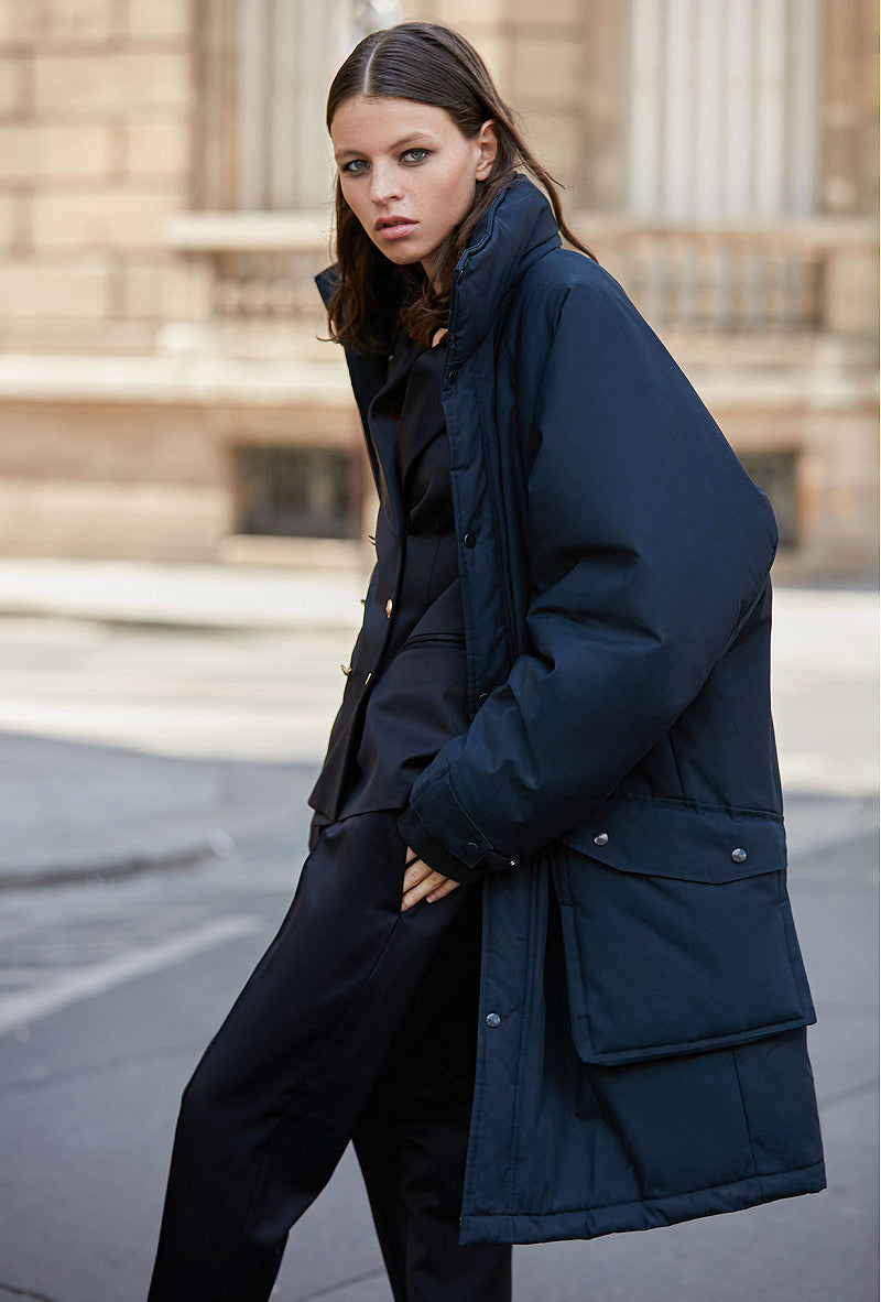 Coat Stormi - Navy