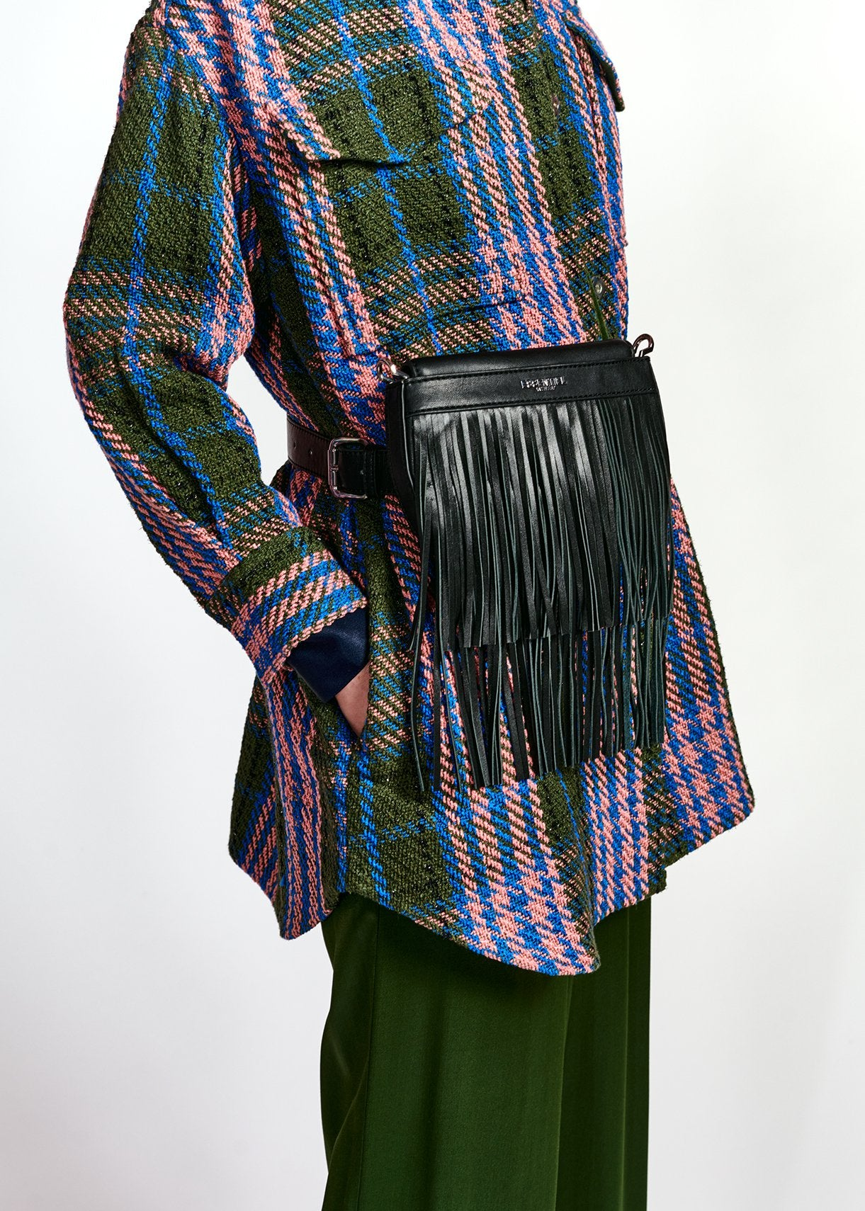 Wringo Fringe Bag - Black