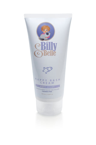 Organic Natural Billy & Belle Nappy Rash Cream for Babies