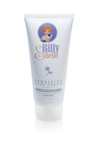 Organic Natural Billy & Belle Sensitive Skin Cream for Babies and Children