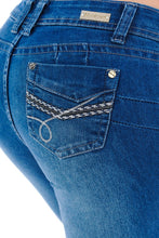 Load image into Gallery viewer, M.Michel Jeans, Levanta Cola, Push-Up - M327