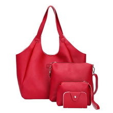Load image into Gallery viewer, Wholesale Women handbag  Four Set Handbag Shoulder