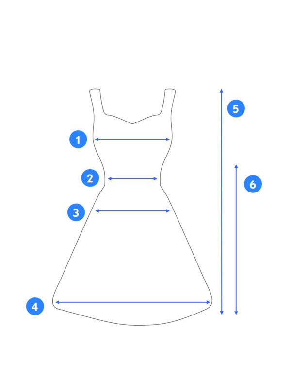 How to Measure a Dress