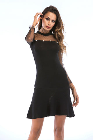 prodotti / Black-Mesh-manica-volant-Hem-perline-Dress-_3.jpg