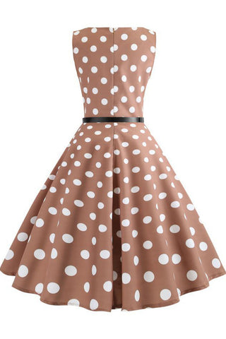 Artikel / Brown-Polka-Knot-Retro-Sleeveless-Dress --_ 2.jpg