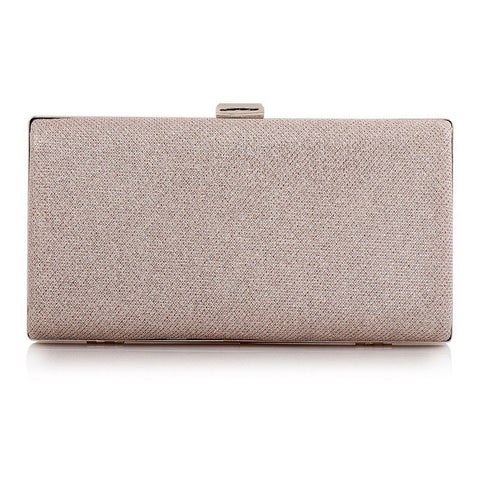 Champagne Sparkly Women's Party Clutch