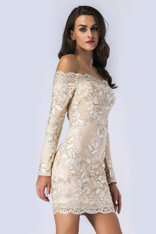 products / Champagne_Embroidered_Off-the-Shoulder_Long-Sleeved_Bodycon_Dress_2.jpg