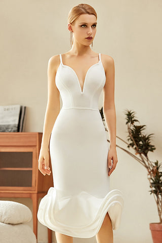 Chic Mermaid Cocktail Party Bandage Dress