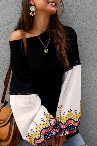 prodotti / Flared_Sleeve_Casual_Loose_Blouse_1.jpg
