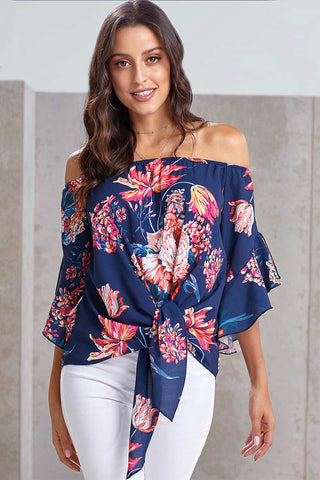 productos / Floral-Off-the-shoulder-Tie-front-Blouse-_4.jpg