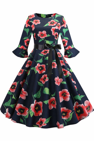 productos / Floral-Print-Boatneck-A-line-Dress-_1.jpg