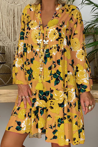 products / Floral_Half_Placket_Button_Up_Swing_Dress_3.jpg