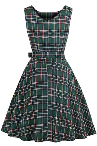 products / Green-Plaid-Sleeveless-Vintage-Dress --_ 2.jpg