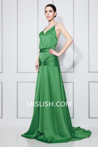 products/Green-V-neck-Shirred-Backless-Long-Dress-_3.jpg