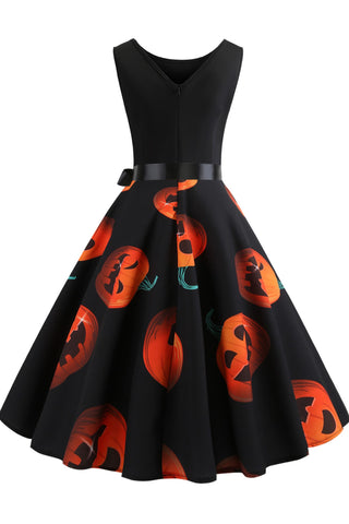 produkte / Halloween-Ärmelloses-Kürbis-Print-Panel-Dress.jpg