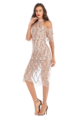 products / Schulterfreies High-Neck-Sequined-Tasseled-Midi-Dress-_4.jpg