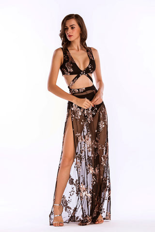 products / Pink-V-Neck-Sequined-Oberschenkel-High-Slit-Cut-Out-Prom-Dress --_ 1.jpg