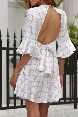 produits / Plaid_Cutout_Back_Ruffle_Dress_2.jpg
